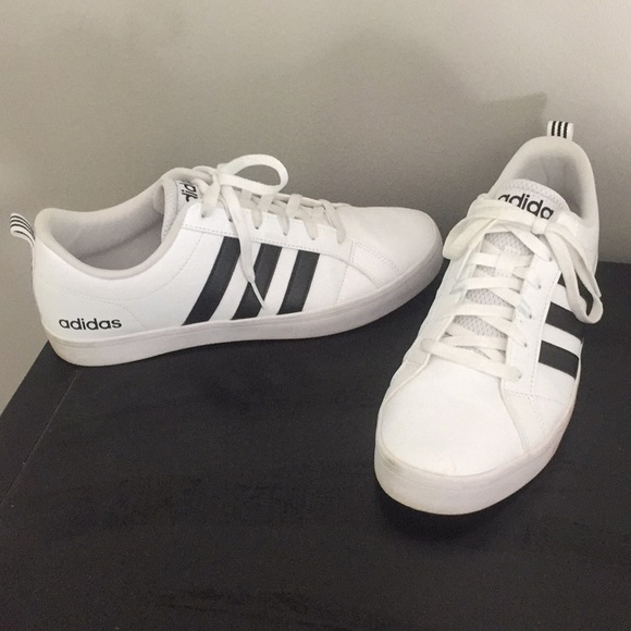 adidas white with black stripes sneakers off 79% - www.usushimd.com